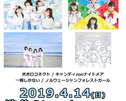 4/14お披露目ライブ詳細決定!